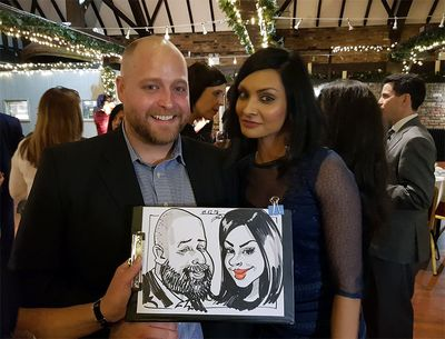 Party Caricatures London