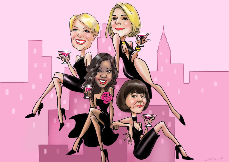 Sex in the City caricature